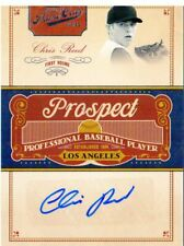 2011 Prime Cuts Prospect Signatures Dodgers Baseball Card #CR Chris Reed /299