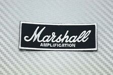 Embroidered Patch Iron Sew Logo guita music amplifier jacket MARSHALL logo hat