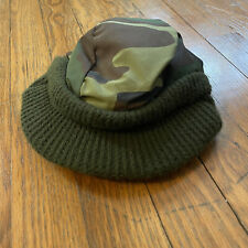 Vintage Cabelas Thinsulate 3M Large Thermal Flap Camo Hunting Outdoor Hat 1980s