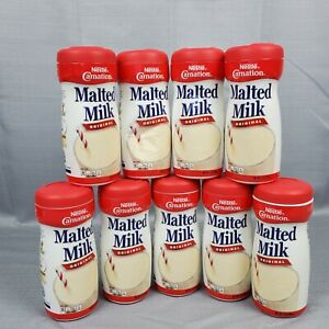 Carnation Malted Milk, Original, 13 Ounce Jars  (Pack of 9) New Sealed Exp 07/21