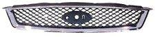 FORD FOCUS 2004 - 2008 FRONT BUMPER GRILLE/ BETWEEN H/LAMPS WITH CHROME TRIM