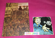 FALLOUT NEW VEGAS LE ROMAN RELIE ALL ROADS + DVD MAKING OF FALLOUT 3 NEW VEGAS