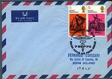 """GRAN BRETAGNA - 1970 - Annullo speciale """"British Forces Postal Service"""""""