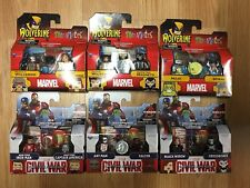 Lot 6 Marvel Minimates Tactical Wolverine & Marvel Now Magneto TRU X-Men New