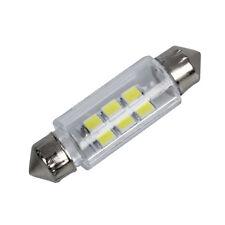 New Practical 38mm White 6 SMD LED Car Interior Dome Light Lamp Bulb DC 12V F9J6
