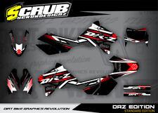 SCRUB Suzuki graphics decals kit DRz 400 1999-2018 stickers enduro '99-'18