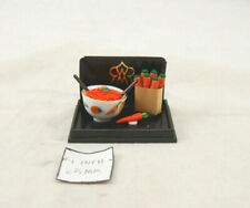 Carrot Salad - 1.819/5 food miniature ceramic dollhouse 1/12 scale Reutter