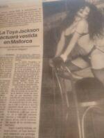 Latoya Jackson.. Acttuaravesttida En Mallorca.