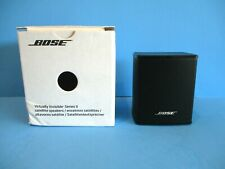 1 Bose Virtually Invisible Satellite Cube Speaker Series II Home Theater Sound