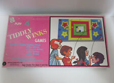 Play 4 Tiddly Winks Games Tee Pee Toys Zoo Star Box Winks Race O Winks Vintage
