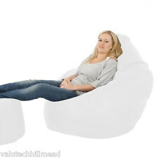 House Additions Bean Bag Chair, Colour: White