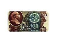 Russia USSR Soviet Ruble iPhone 5S 5c 6 6S 7 8 X XS Max XR 11 12 Pro Plus Case