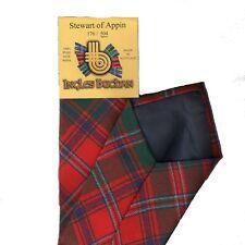 Corbata Para Hombre clan Hecho en Escocia Stewart de Appin Antigua Tartan