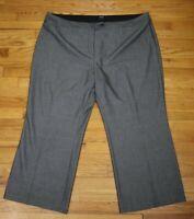 WOMEN'S GRAY DRESS PANTS - APT. 9 MODERN FIT - SIZE 24WS