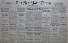 4-1931 APRIL 25 POPE QUITS VATICAN WALKER HOOVER BUTLER. COGNAC DISTILLERS WET