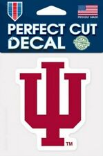 Indiana Hoosiers Logo 4x4 Perfect Cut Car Decal See Description