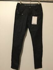 Viscose Regular Size Mid-Rise Jeans for Women