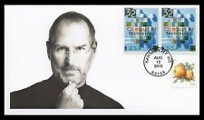 Steve Jobs Apple Stamp First Day Cover ~ Scott #5037 ~ @McGeekiest Cachets FDC