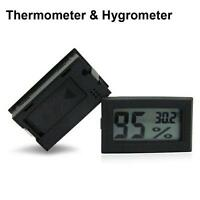 MINI HUMIDITY THERMOMETER FOR HYDROPONICS NUTRIENTS TEMPERATURE GROW ROOM