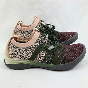 Bionica Women's Winsford Casual Sneaker Shoes Olive Multi Size 9.5