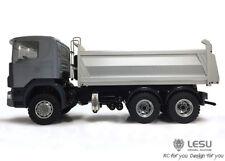 LESU 1/14 Scania 6x6 Metal Hydraulic Dumper RC Truck Model ESC Servo DIY TAMIYA