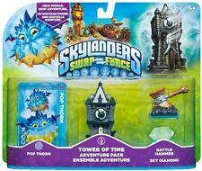Skylanders Swap Force Tower of Time BATTLE HAMMER SKY DIAMOND POP THORN NISB