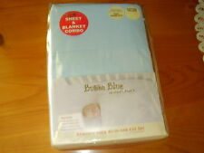 Bubba Blue  Mother's Pouch   all in one cot set   BLUE   new in pack