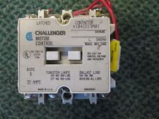 Challenger Size 1 Contactor 4104CU13M01 30 A 600 V 120 V coil 3 Pole