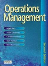 Operations Management By Prof Nigel Slack, Dr Stuart Chambers, Dr Christine Har