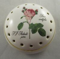 Vintage Avon Collectable Ceramic Pomander/Pot Pourri - Rosa Centifola