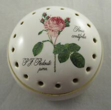 Vintage Avon Collectable Ceramic Pomander/Pot Pourri - Rosa Centifola
