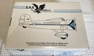 Spec Cast EAA Aviation 1992 The Winnie Mae of Oklahoma Model Airplane NIB 116100