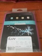 ILUV Flexi-Clear Case For Your IPad Wi-Fi 3G/ Wi-fi With Stand ICC802 Pink