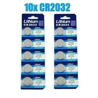 Lots of 10 Batteries CR2032 3V li-fresh for 3 V Battery Watch Free Shipping