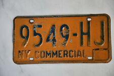 Original Autonummer vom Bundesstaat NEW YORK   USA