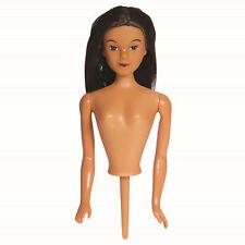 PME Dunkelh. Prinzessin Puppe Für Geburtstagskuchen Deko Kuchen Barbie