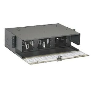 Panduit FRME3 Fiber Rack Mount Enclosure FAP 6 LC Duplex Single Mode OS1 NEW