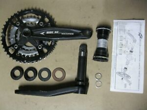 RaceFace Ride XC Forged 175mm 9 Speed Crankset w/ Bottom Bracket Mountain Bike