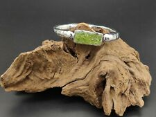 Armband Zamak Hochwertig Stone Olivina Schmuck Armbänder Verstellbare Grün