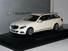 Kyosho 2013 Mercedes-Benz E-Class Estate Diamond White Dealer Edition 1/43