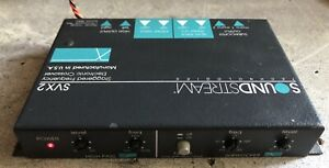 Old School Soundstream SVX2 2-way Staggered Frequency Electronic Crossover,Rare
