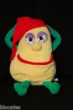 Video Vegetables Yellow Squash Plush Toy Doll 1987