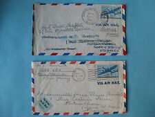 timbre poste aérienne Etat-Unis avion 1946