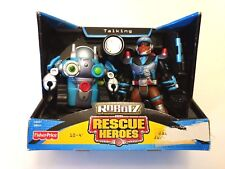 Fisher Price Talking Robotz Rescue Heroes Nip 2004