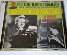 "Old time radio shows-in MP3 format-""I Love an Adventure"" 14 Episodes"