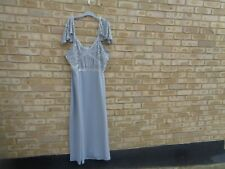 Lovedrobe size 28 grey full length dress with sequin NEW WITH TAGS (see dscrp)