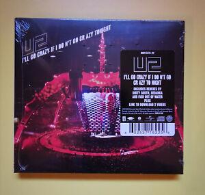 U2 : I'll Go Crazy If I Don't Go Crazy Tonight - US digipack cd single - sealed