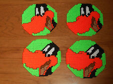 DAFFY DUCK FACE COASTERS - SET 4   (NEW)