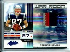 2010 Absolute War Room Rookie 3-Color Jersey Rob Gronkowski D # 32/50 Patriots