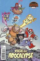 Age Of Apocalypse Comic Issue 1 LImited Skottie Young Variant Modern Age Nicieza